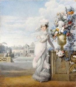 Portrait de l'impératrice. Auguste Gameray, 1813 (RMN-Grand Palais)