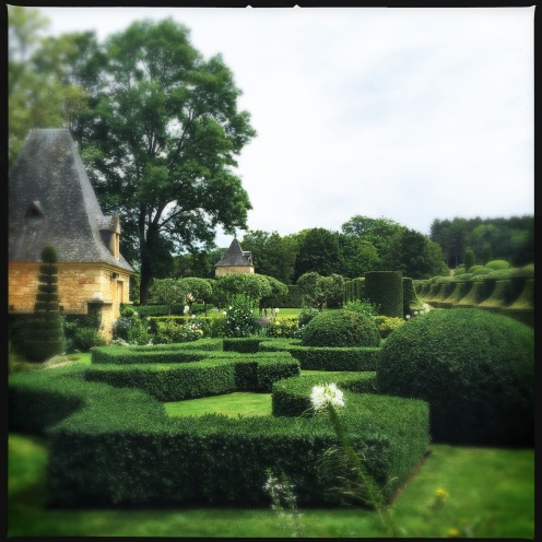 The Manor and French garden
