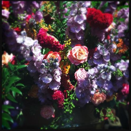 Flowers in Italian Baroque Dinner designed by Frederiek van Pamel