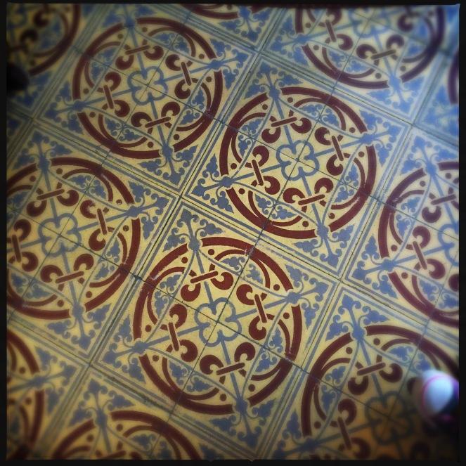Tiles inside City Hall Brussels