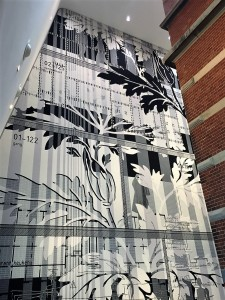 Tapestry Damask by Petra Blaisse, Stedelijk Museum Amsterdam