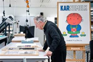 Dick Bruna at the Rijksmuseum Amsterdam