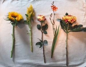 DIY September bouquet by Saskia's flowers