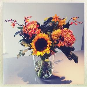 DIY September bouqet by Saskia's Flowers