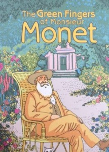 Childrens book The green fingers of Mr Monet