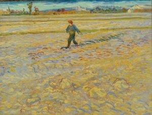 Vincent Van Gogh, Le Semeur, 1888